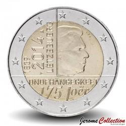 LUXEMBOURG - PIECE de 2 EURO - Traité de Londres - 2014 Km#129