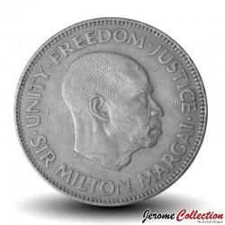 SIERRA LEONE - Pièce de 10 Cents - Sir Milton Margaï - 1964 Km#19