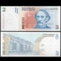 ARGENTINE - Billet de 2 Pesos - 2004 P352a2