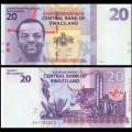 SWAZILAND (Eswatini) - Billet de 20 Emalangeni - 2010 P37a