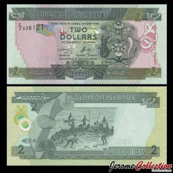 SALOMON (ILES) - Billet de 2 DOLLARS - Pêcheurs - 2006 P25a1