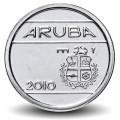 ARUBA - PIECE de 5 Cents - Armoiries d'Aruba - 2010 Km#1