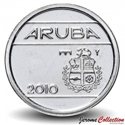 ARUBA - PIECE de 5 Cents - Armoiries d'Aruba - 2010