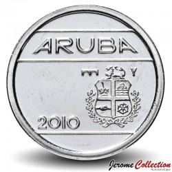 ARUBA - PIECE de 5 Cents - Armoiries d'Aruba - 2010