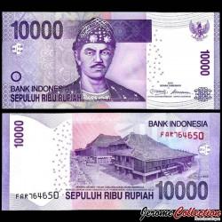 INDONESIE - Billet de 10000 Rupiah - Sultan Mahmud Badaruddun - 2016