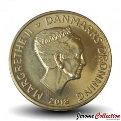 DANEMARK - PIECE de 20 Kroner - Margrethe II - 2018 Km#955