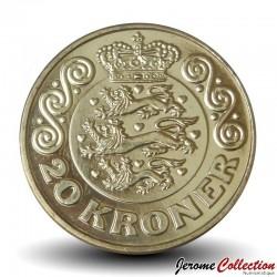 DANEMARK - PIECE de 20 Kroner - Margrethe II - 2018