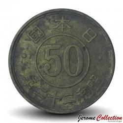 JAPON - PIECE de 50 Sen - Ere Showa - 1947 Y#69
