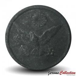 JAPON - PIECE de 5 Sen - Colombe - 1945 Y#65