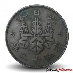 JAPON - PIECE de 1 Sen - Ere Showa - 1937 Y#47
