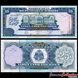 HAITI - Billet de 25 Gourdes - Palais de justice - 2009 P266d