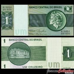 BRESIL - Billet de 1 Cruzeiros - 1980 P191Ac