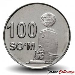 OUZBEKISTAN - PIECE de 100 Som - Monument de l'indépendance - 2018 Km#new