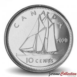 CANADA - PIECE de 10 Cents - Le bateau Bluenose - 2020 Km#492
