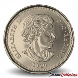 CANADA - PIECE de 1 Dollar - Un plongeon huard du Canada - 2020