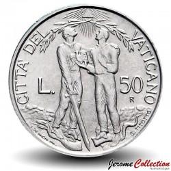 VATICAN - PIECE de 50 Lires - Justice Divine - 1997 Km#282
