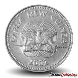 PAPOUASIE NOUVELLE GUINEE - PIECE de 10 Toea - Marsupial Couscous - 2002