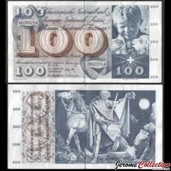 SUISSE - Billet de 100 Francs - Saint Martin - 24.01.1972 P49n2