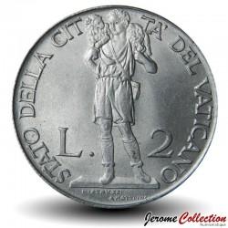 VATICAN - PIECE de 2 Lires - Le Berger - 1940