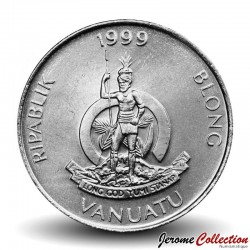 VANUATU - PIECE de 20 Vatu - Crabe de cocotier - 1999