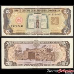 REPUBLIQUE DOMINICAINE - Billet de 20 PESOS ORO - 1990 P133a