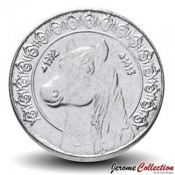 ALGÉRIE - PIECE de 1/2 Dinar - Cheval - 1992 Km#128