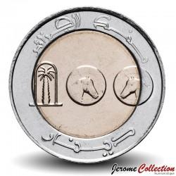 ALGÉRIE - PIECE de 100 Dinars - Cheval - Bimétal - 2018