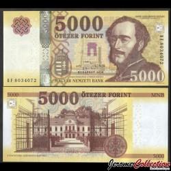 HONGRIE - Billet de 5000 Forint - Conte István Széchenyi - 2020 P205c