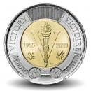 CANADA - PIECE de 2 Dollars - 75 ans de la victoire - 2020