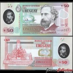 URUGUAY - Billet de 50 Pesos - José Pedro Varela - Polymer - 2020 P102a