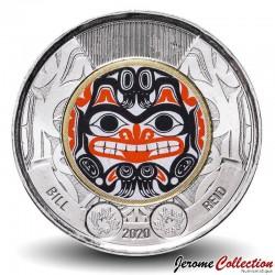 CANADA - PIECE de 2 Dollars - Bill Reid - Version colorisée - 2020 Km#new