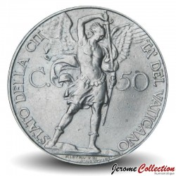 VATICAN - PIECE de 50 Centesimi Pie XI - 1936