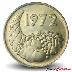 ALGÉRIE - PIECE de 20 CENTIMES - Corne d'abondance - Fao - 1972 Km#103