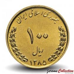 IRAN - PIECE de 100 Rials - Sanctuaire de l'Imam Reza - 2006