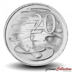 AUSTRALIE - PIECE de 20 Cents - Un ornithorynque - 2020 Km#new