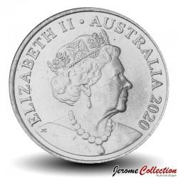 AUSTRALIE - PIECE de 20 Cents - Un ornithorynque - 2020