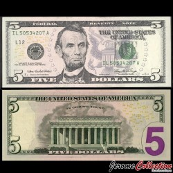 ETATS UNIS / USA - Billet de 5 DOLLARS - 2006 - L(12) San Francisco P524aL