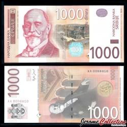 SERBIE - Billet de 1000 Dinara - Đorđe Vajfert - 2006 P52a