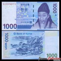 CORÉE DU SUD - Billet de 1000 Won - 2007
