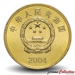 CHINE - PIECE de 5 YUAN - Phare de Taiwan - 2004