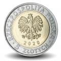 POLOGNE - PIECE de 5 ZLOTE - Palais Branicki à Białystok - 2020 Y#new