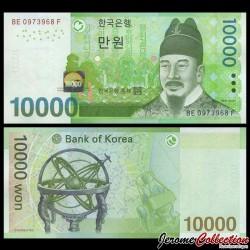 CORÉE DU SUD - Billet de 10000 Won - 2007