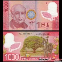 COSTA RICA - Billet de 1000 Colones - Polymer - 2009