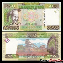 GUINEE - Billet de 500 Francs - 2015 P47a