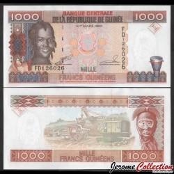 GUINEE - Billet de 1000 Francs - 1998 P37a