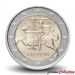 LITUANIE - PIECE de 1 Euro - Chevalier Vytis - 2015 Km#211