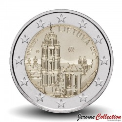 LITUANIE - PIECE de 2 Euro - Vilnius capitale européenne de la culture - 2017 Km#228