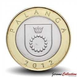 LITUANIE - PIECE de 2 Litai - 2012 - Palanga Km#186.1