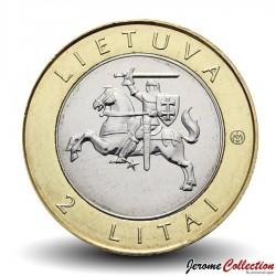 LITUANIE - PIECE de 2 Litai - Birštonas - 2012