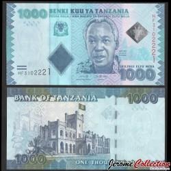 TANZANIE - Billet de 1000 Shillings - Président Julius Kambarage Nyerere - 2019 P41c